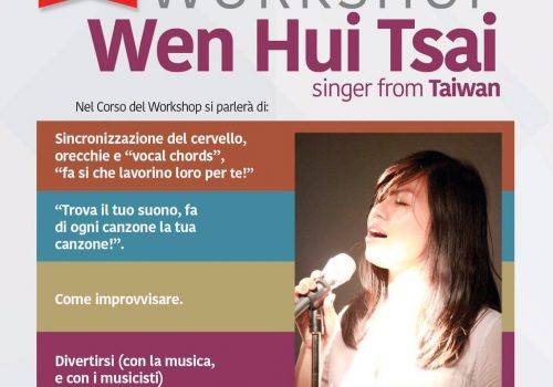 VOCAL WORKSHOP with WEN HUI TSAI from TAIWAN #OdAcademy
